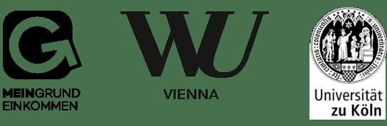 Mein Grundeinkommen, Wirtschaftsuniversität Wien und Universität zu Köln
